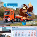 Календарь трио Artex Logistic 2016 год