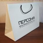 Бумажный пакет ламинированный