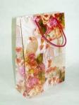 Бумажный пакет ламинированный подарочный