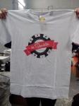 Печать  на футболке эмблемы логотипы __3