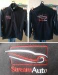 Флисовая куртка с вышивкой Stream Auto_1