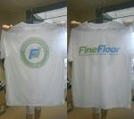 Корпоративная футболка Fine floor __1