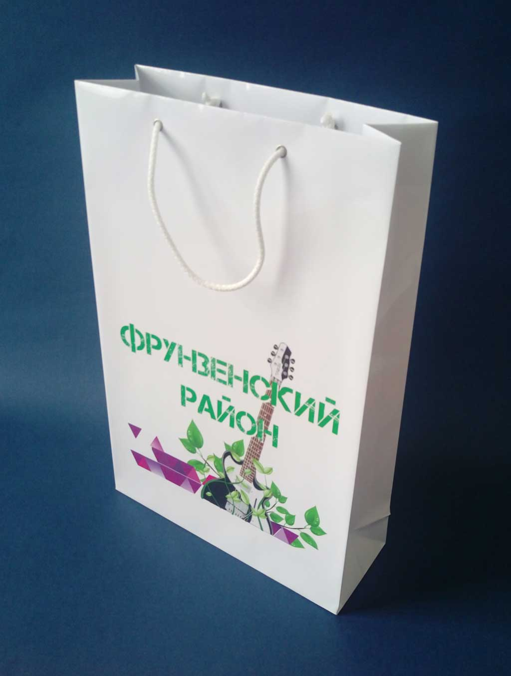 Печать логотипа на пакетах тюмень
